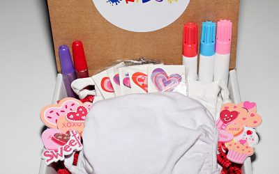 Today – Valentines Mask Kit